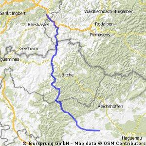 Tour 2010:1. Etappe 2.Teil