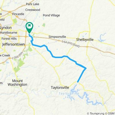Taylorsville Long Route