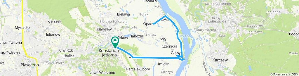 Percorso ad alta velocità in Konstancin-Jeziorna