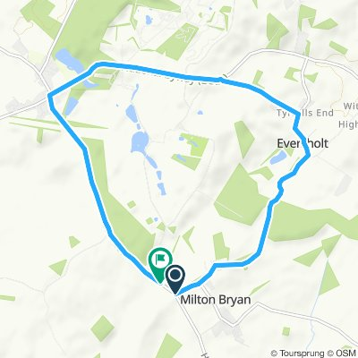 Woburn 10km trial route