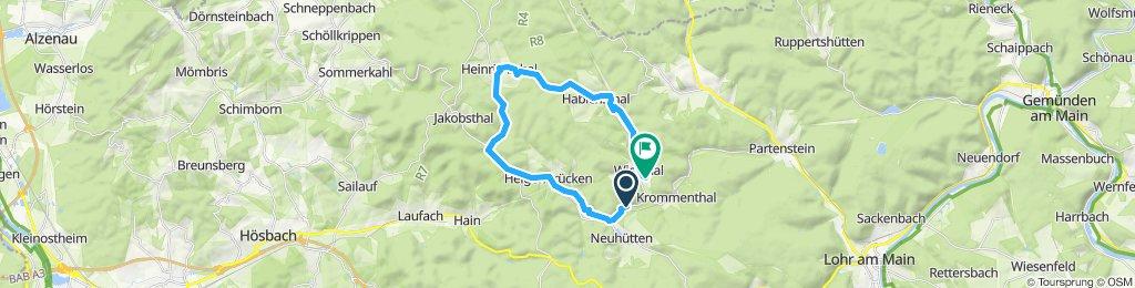 Sportliche Route heinrichsthal