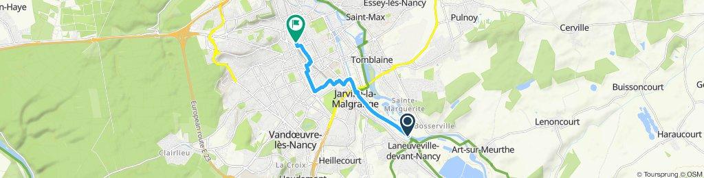 Itinéraire modéré en Nancy