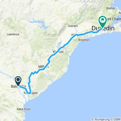 Tour 13 - Balclutha to Dunedin