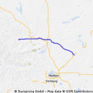 Reedsburg to Columbus