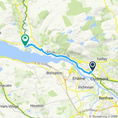 Easy ride in Dumbarton