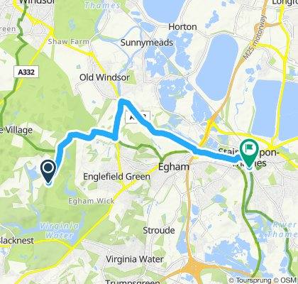 Easy ride in Staines-upon-Thames
