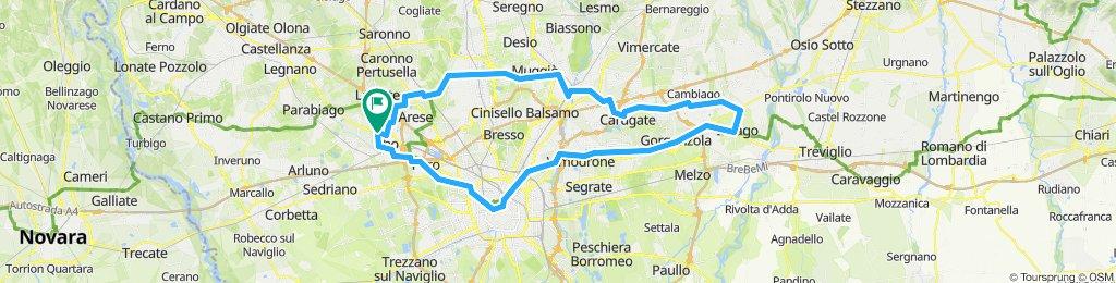 Giro Villoresi Naviglio Martesana