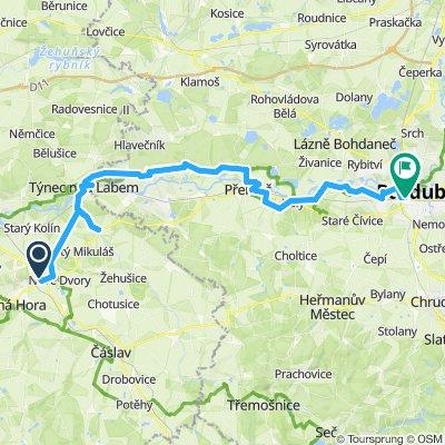 Kutná Hora - Pardubice