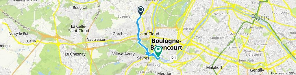 Tout droit à l'intérieur Boulogne-Billancourt