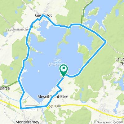 Lac de Orient Runde