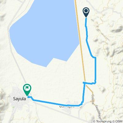 Paseo rápido en Sayula