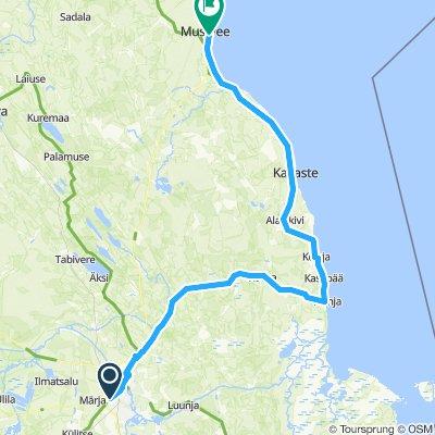 Tartu - Mustvee