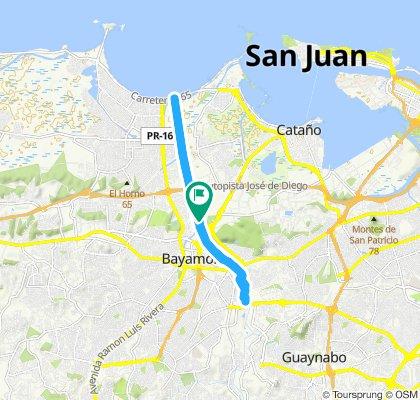 Blistering ride in San Juan