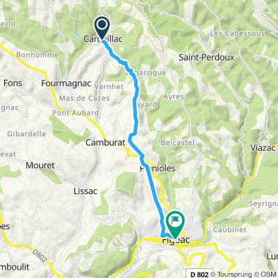cardiallac to figeac