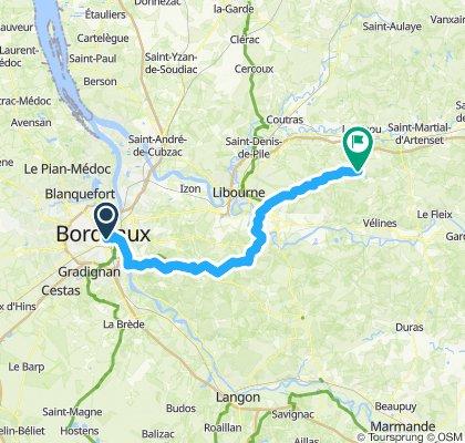 Bordeaux- Villefranche-de-Lonchat