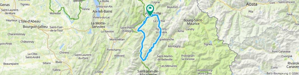 Gilly-sur-Isère Radfahren