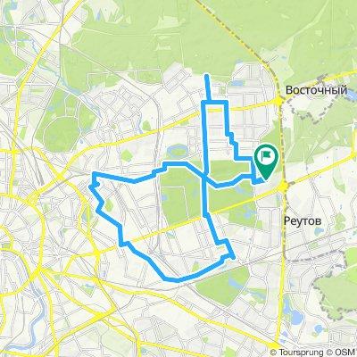 Велокурьерские поездки по Востоку - Гольяново - Перово - Карачарово - Большая Почтовая