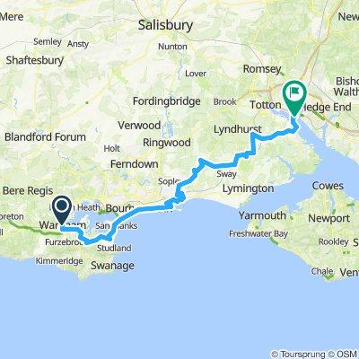 Ply-Bri Stage 4: Wareham > Southampton