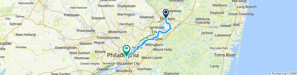 The Almost to Philly Trenton to Camden Ride