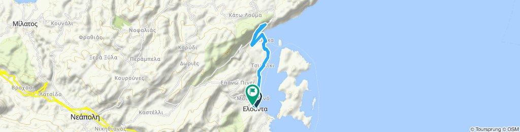 Elounda - Katselio. 1st