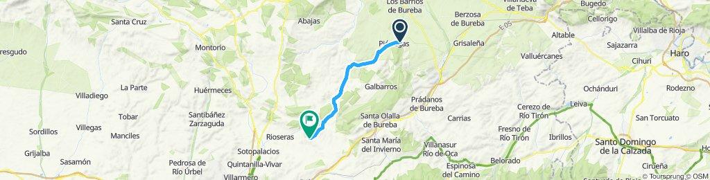 Itinéraire reposant en Valle de las Navas