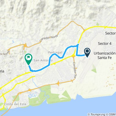 E00A - Aéroport Panama Tocumen - Los Panas Hostel