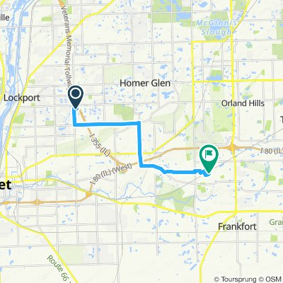 Sporty route in Lockport