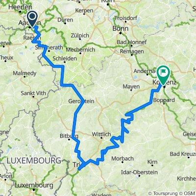 Aachen - Trier - Koblenz