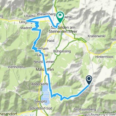 LUGGI´S AUSFAHRT-Tag 2: Abfahrt Hundstein - Biberg - Leogang - Saalfelden