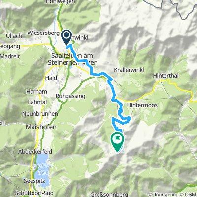 LUGGI´S AUSFAHRT-Tag1: Saalfelden - MariaAlm - Auffahrt Hundstein