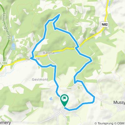 Bleid 11.7 Km