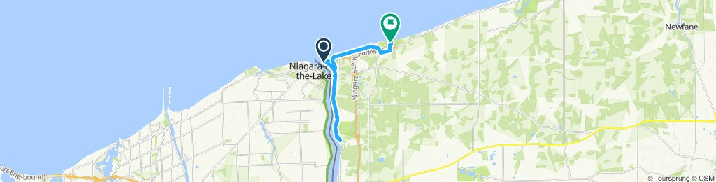4Mile to Old Fort Niagara to Lewiston&back
