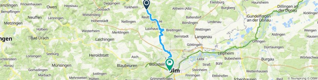 Amstetten - Ulm