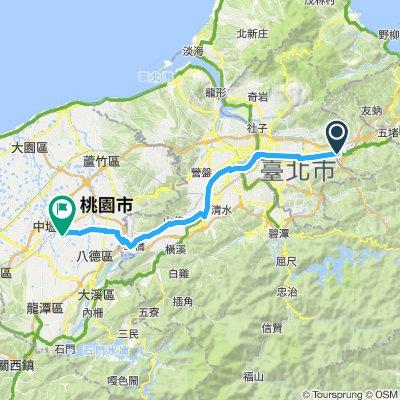 Taipei to Zhongli