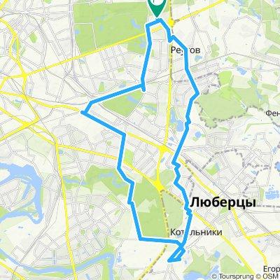 Велоездки Рязанский пр-т =>Котельники (промзона Силикат)