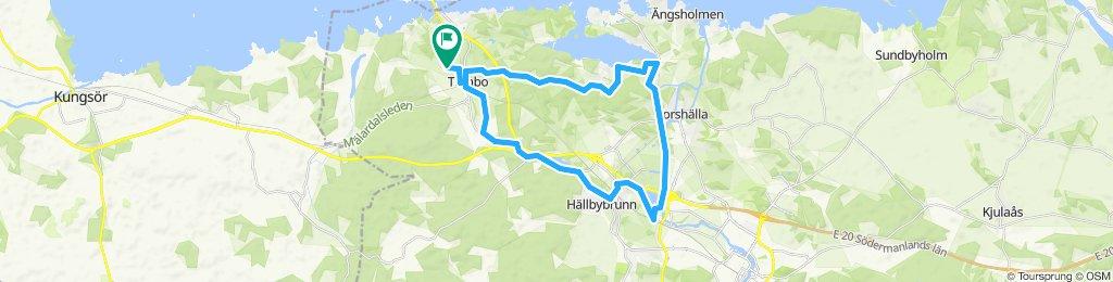 Slow ride in Kvicksund