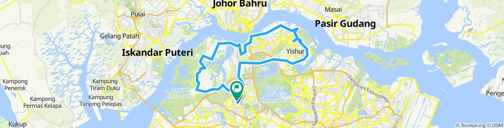 Exploring Singapore North Parks From Bukit Gombak