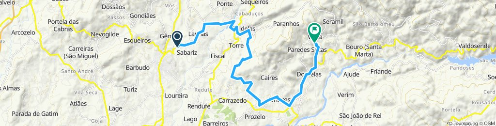 Moderate route in Amares