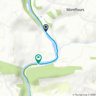Makkelijke rit in Saint-Jean-sur-Mayenne