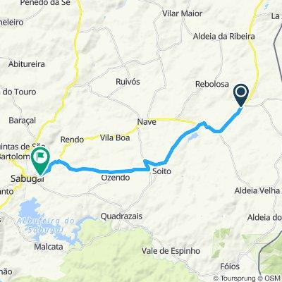 Itinéraire reposant en Sabugal