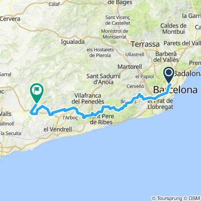 Barcelona Bikepacking Day 1