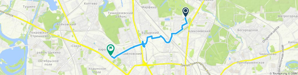 Easy ride in Москва