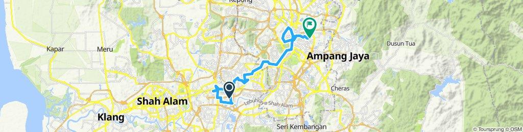 Easy ride in Kuala Lumpur