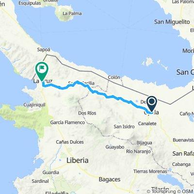 E18–Upala–La Cruz