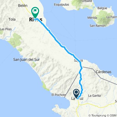 E19–La Cruz(Costa Rica)–Rivas(Nicaragua)
