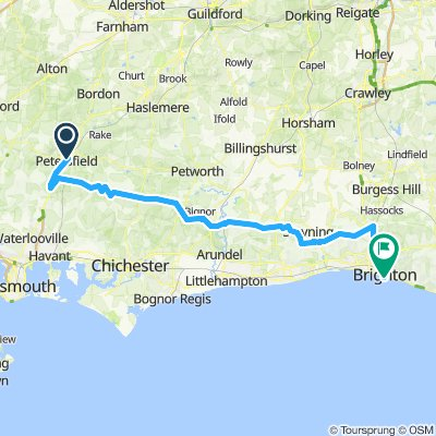 Ply-Bri Stage 6: Petersfield > Brighton