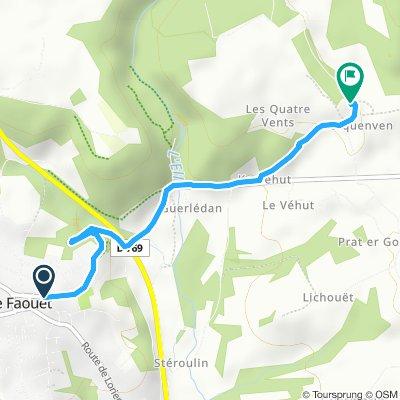 Itinéraire modéré en Priziac