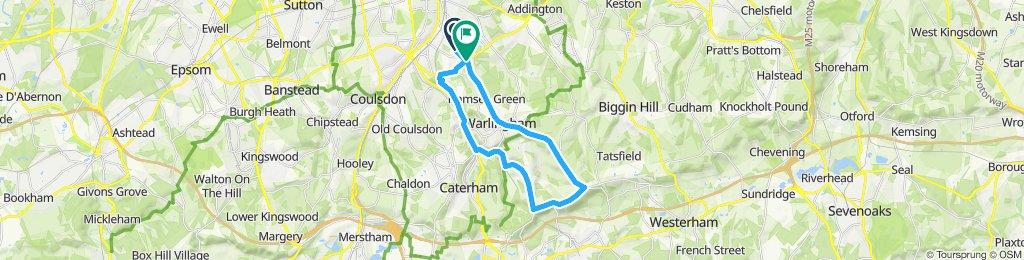 Woldingham loop
