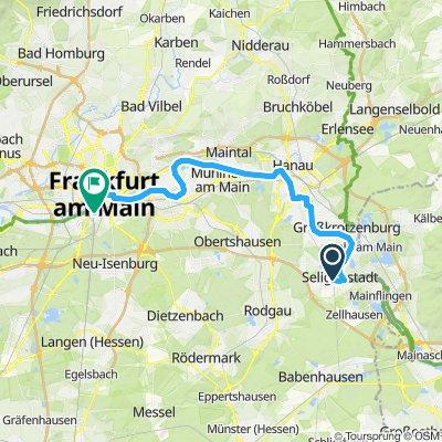 Seligenstadt - Frankfurt