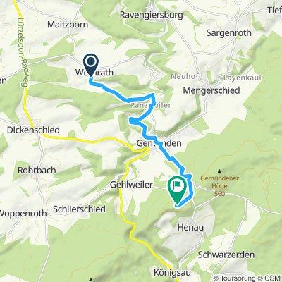 Moderate Route in Henau